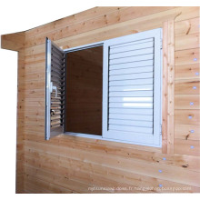 White Shoutter Louver fenêtre stores / Shutter Windows